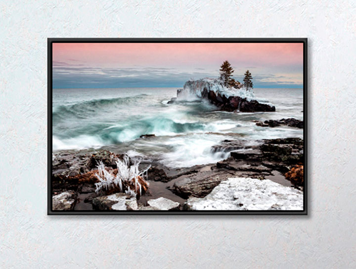 Beautiful Canvas Prints With Float Frames