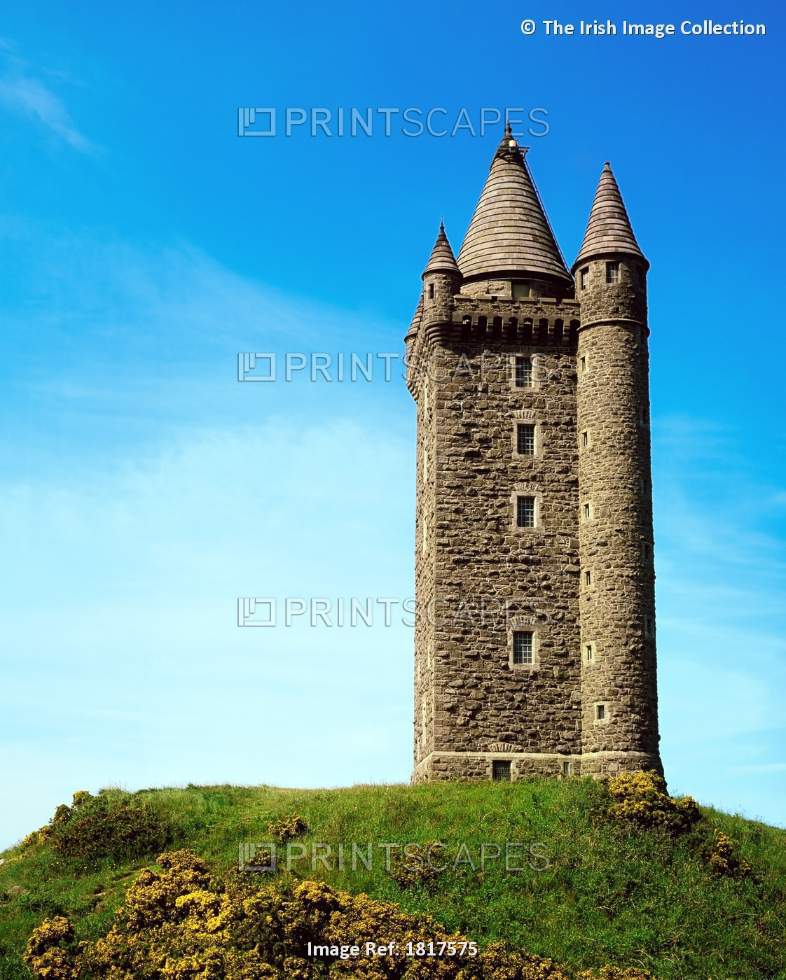 Scrabo Tower, Newtownards, Co Down, Ireland
