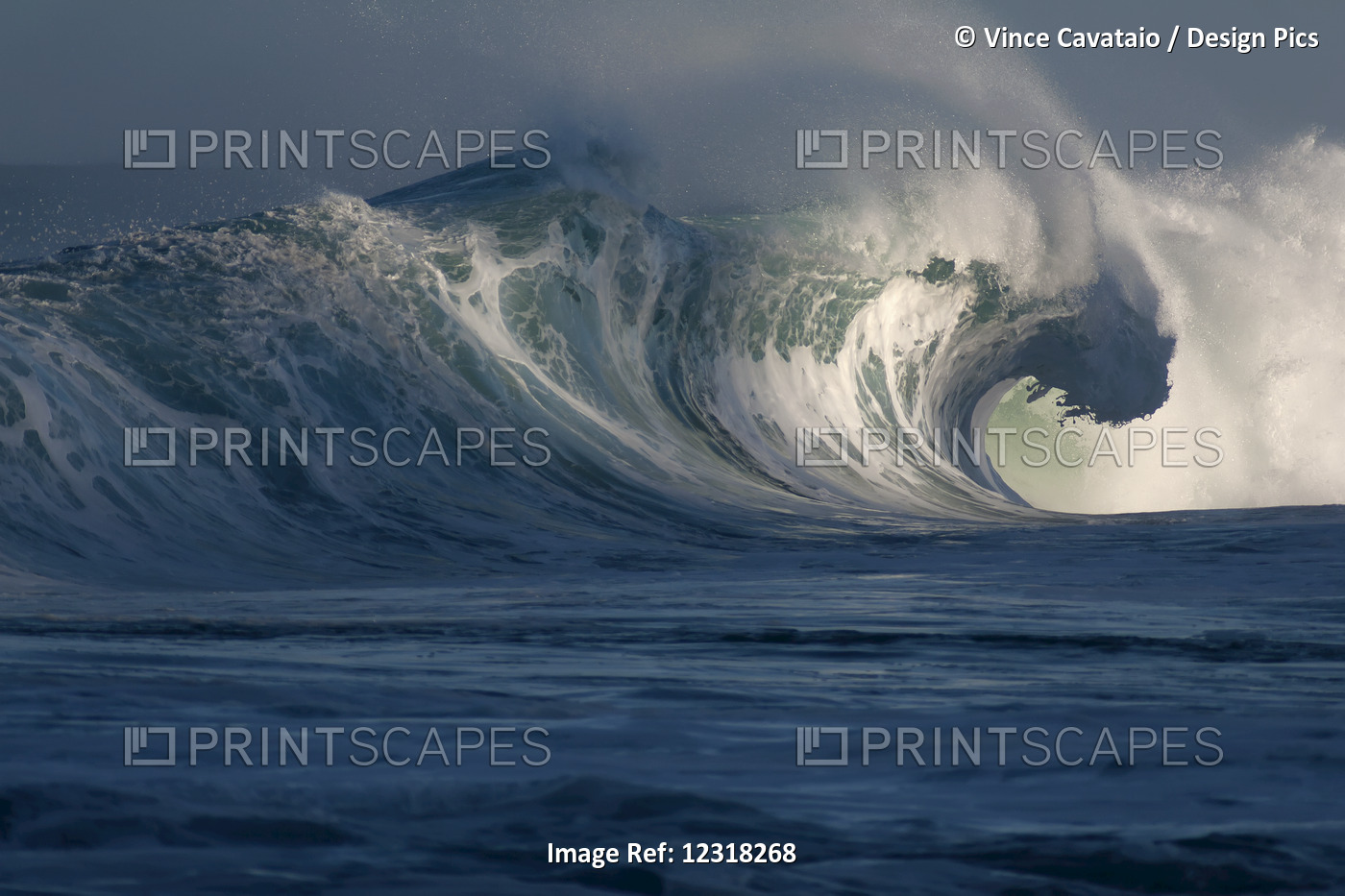Breaking Wave; Hawaii, United States Of America